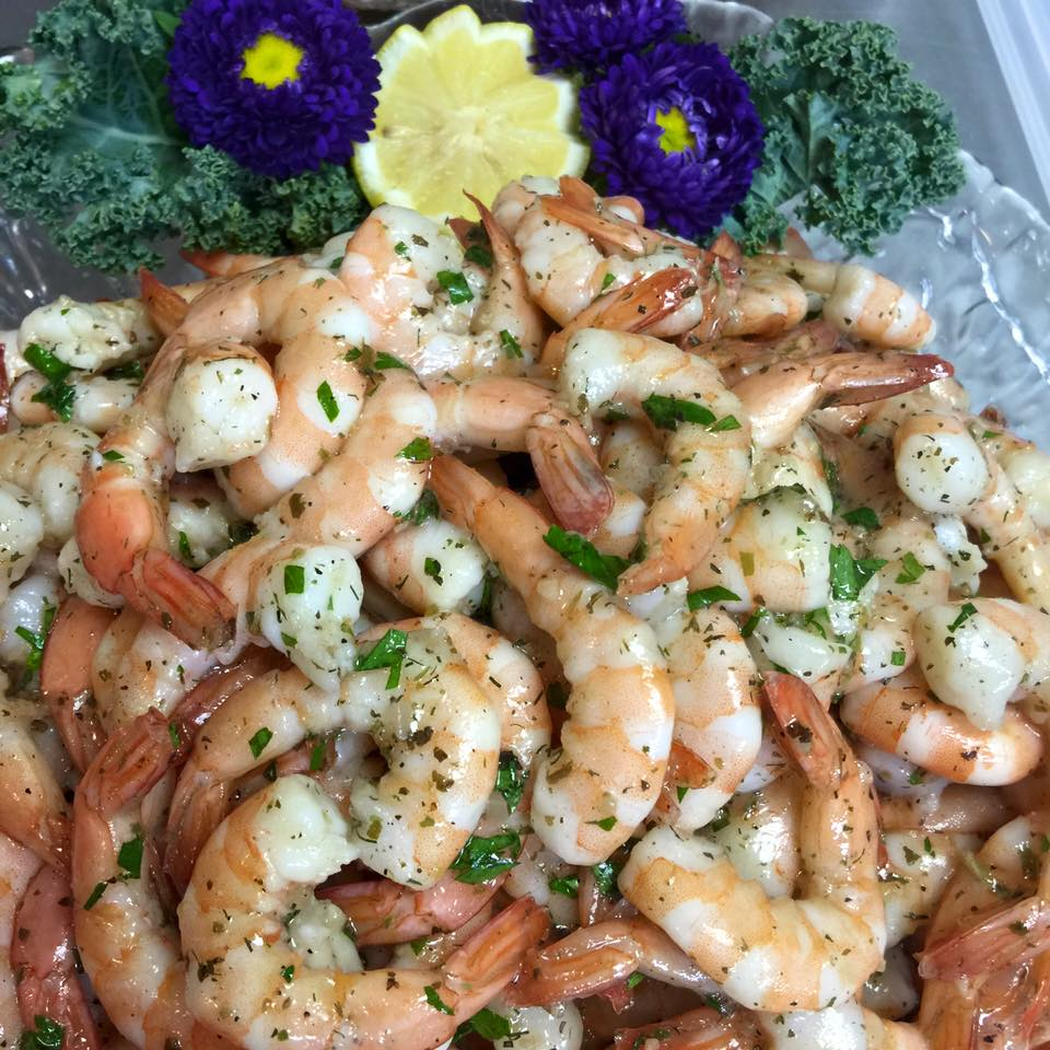 Genevas Marinated Shrimp