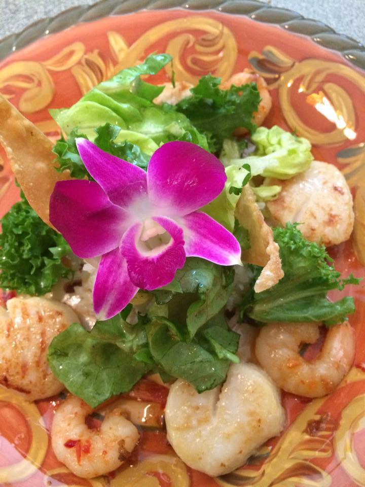 Hawaiian Seafood Salad