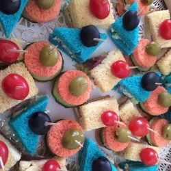 Whimsical Tea Sandwiches